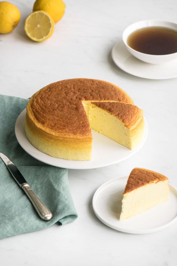 La recette de cheesecake japonais