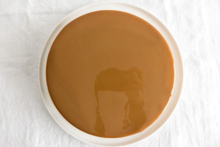 Gla age miroir au caramel empreinte sucr e for Miroir pour se maquiller