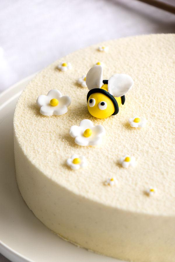 La recette de l'entremets au miel de châtaignier