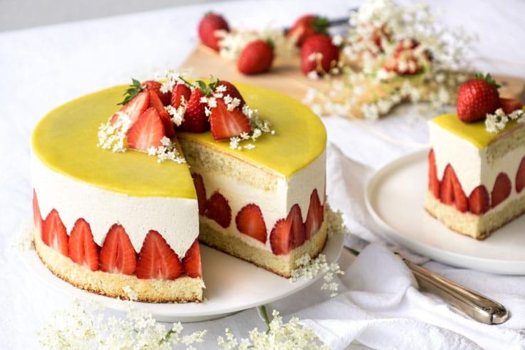 La recette du fraisier classique