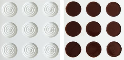 La recette des petits sablés chocolat noisettes