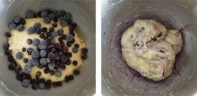 La recette des brioches streusel aux myrtilles