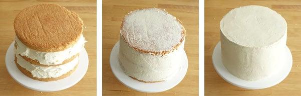 La recette du layer cake aux cerises