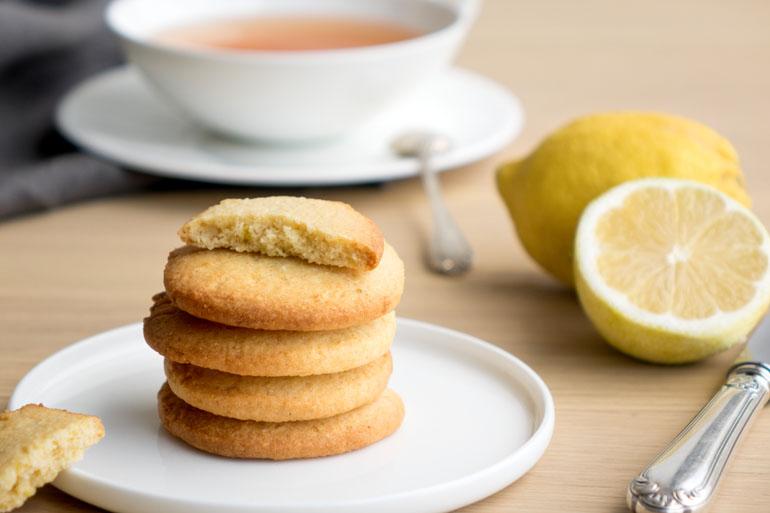 La recette des sablés citron et amandes