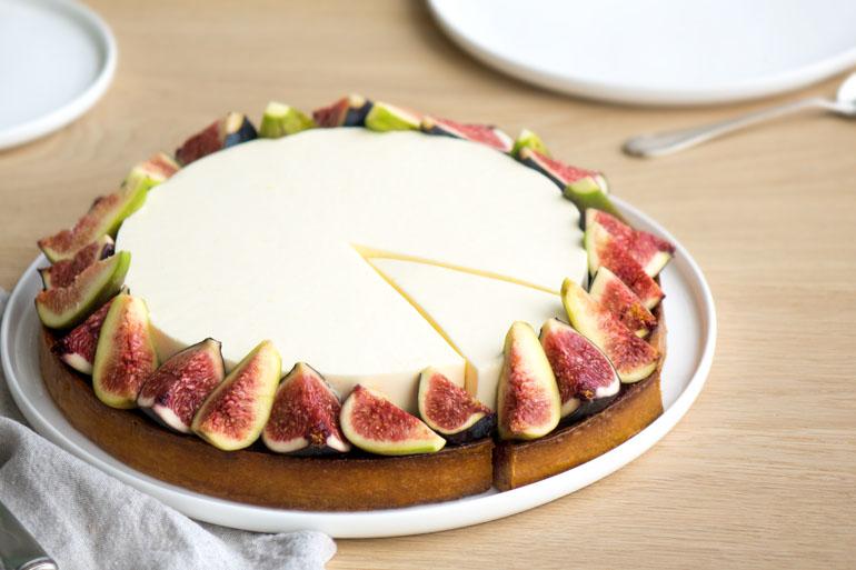 La recette de la tarte aux figues