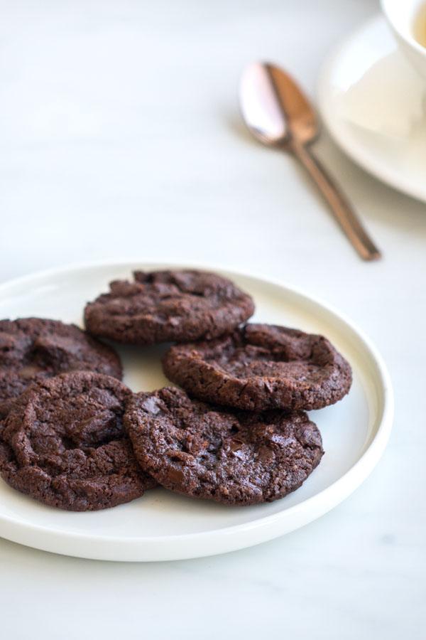 La recette des petits sablés au chocolat