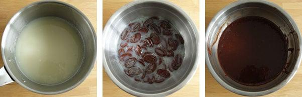La recette de la bûche praliné, café et zestes de clémentine
