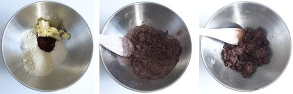 La recette de l'entremets chocolat au lait et fruit de la passion