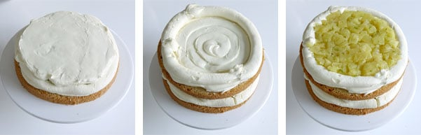 La recette du layer cake exotique