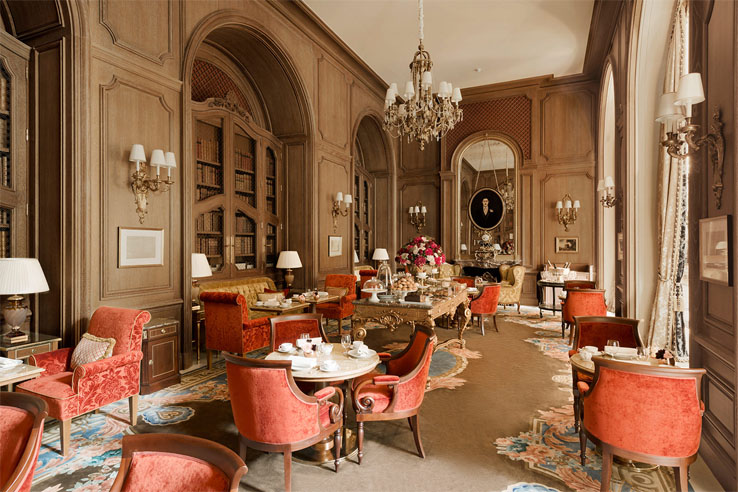 Le salon Proust au Ritz Paris
