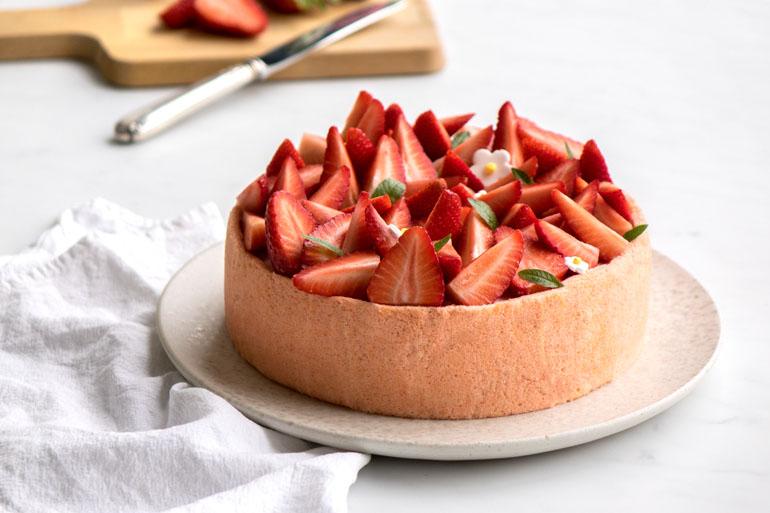 La recette de la charlotte aux fraises