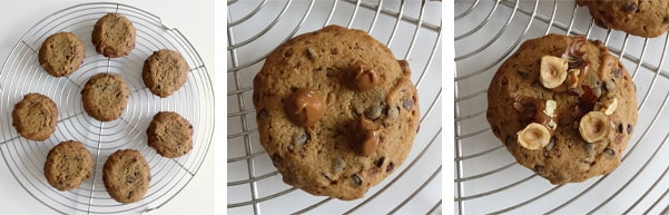La recette des cookies au praliné
