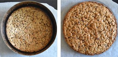 La recette de l'entremets cookie