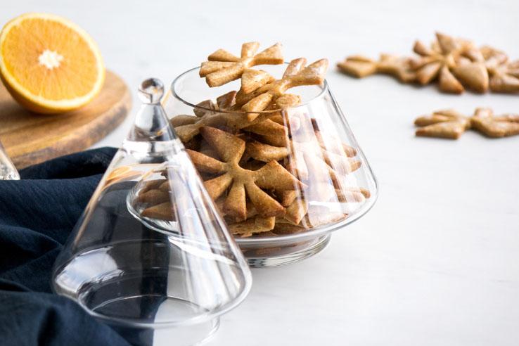 La recette des sablés orange cannelle