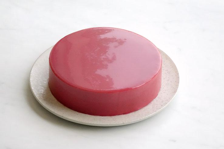 La recette du glaçage miroir à la pulpe de fruit (framboise)