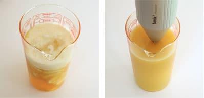 La recette du glaçage miroir à la pulpe de fruit