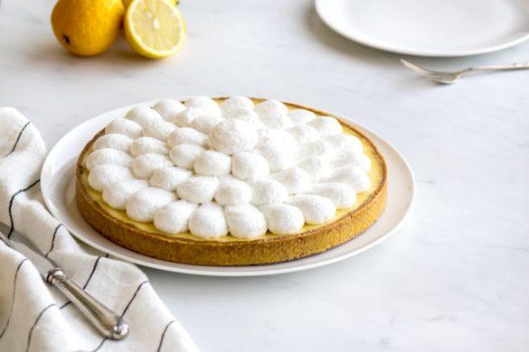 La recette de la tarte au citron meringuée