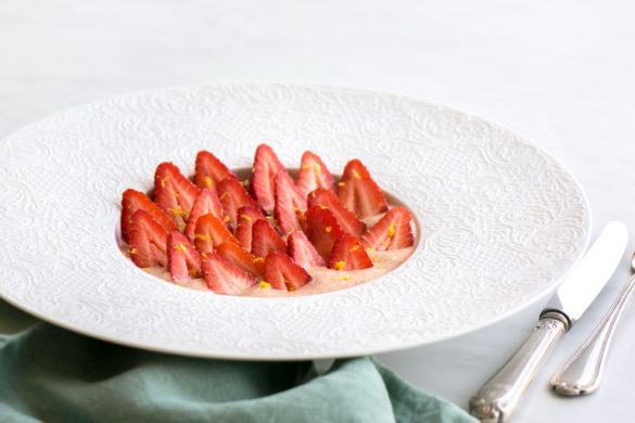 La recette du sabayon aux fraises