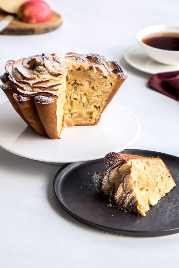 La recette du gâteau pommes et mascarpone