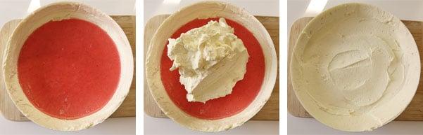 La recette de l'entremets fraises et vanille