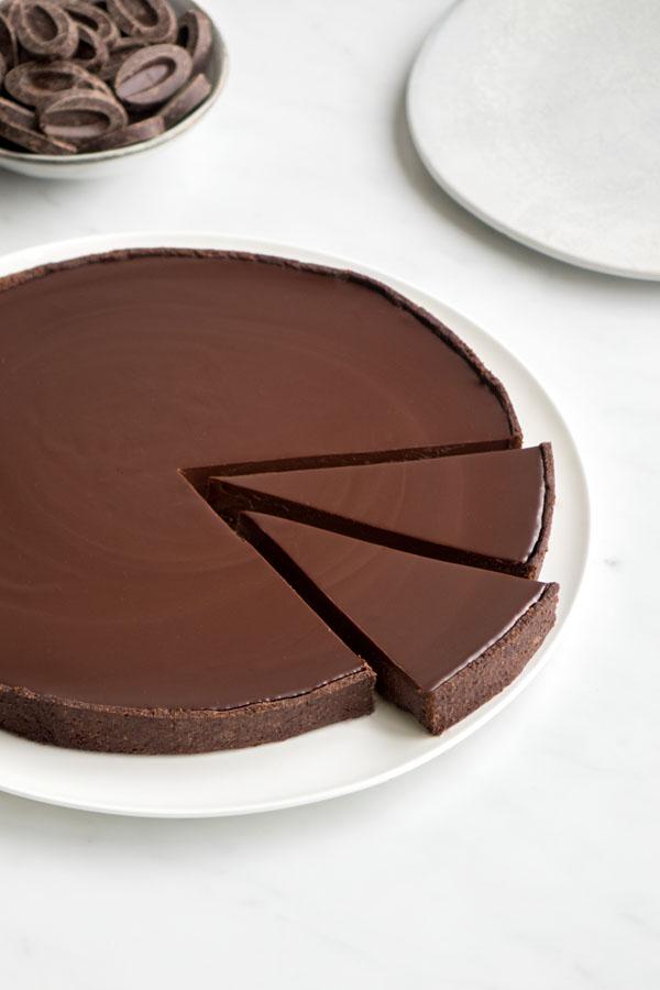 La recette de la tarte au chocolat