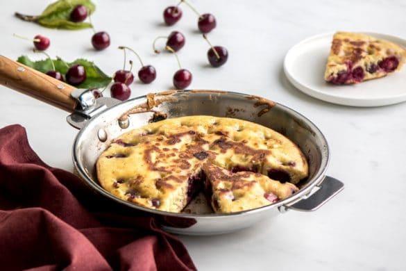 La recette des crêpes alsaciennes aux cerises