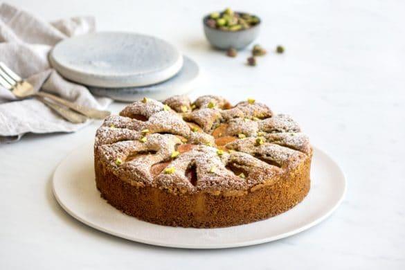 La recette du moelleux pistaches et abricots