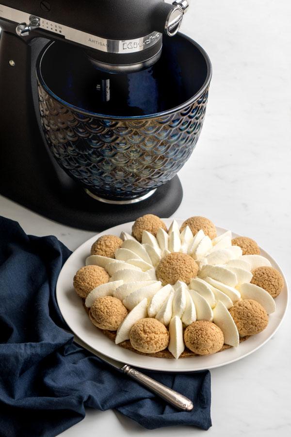 Saint-Honoré vanille et caramel