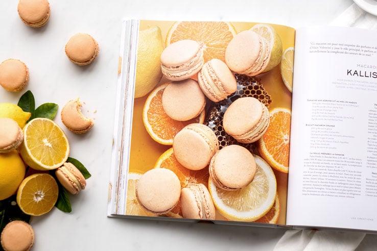 Le livre Infiniment macaron de Pierre Hermé