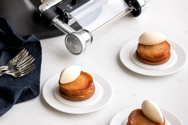 La recette de la tarte tatin façon William Lamagnère