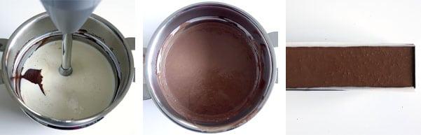 La recette de la bûche vanille chocolat