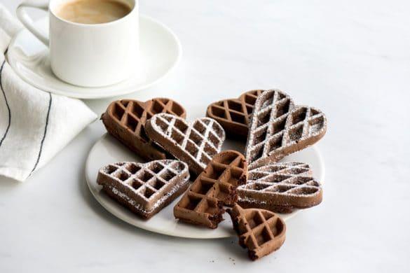 La recette des gaufres au chocolat