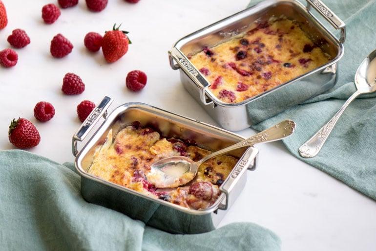 La recette du gratin de fruits rouges