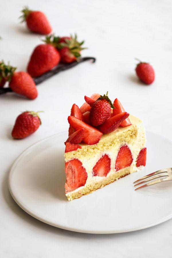 La recette du fraisier léger et facile