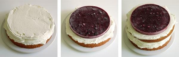 La recette du layer cake chocolat blanc et fruits rouges