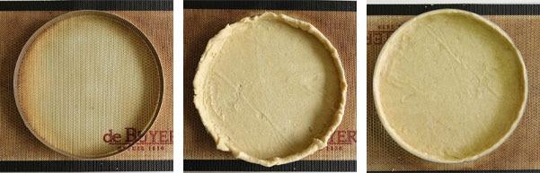 La recette de la tarte aux myrtilles
