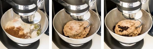 La recette des bagels cannelle et raisins